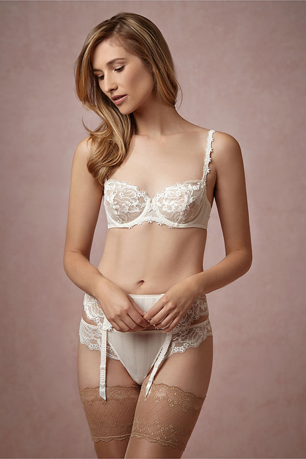 BHLDN Bridal Lingerie Collection Guipure Lace Tanga