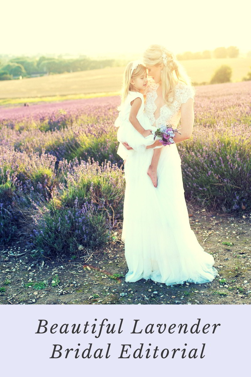 Beautiful Lavender Bridal Editorial - Eva Tarnok Photography