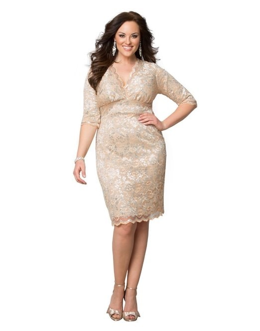 Mother of The Bride Plus Size Dress