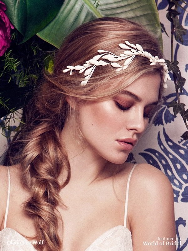Olivia The Wolf 2016 Bridal Headpieces