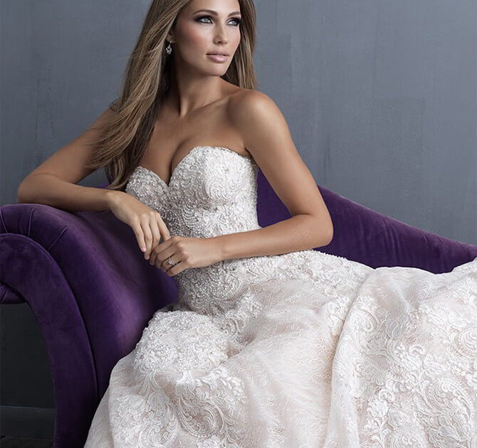 Allure Bridals Spring 2018 Couture Collection