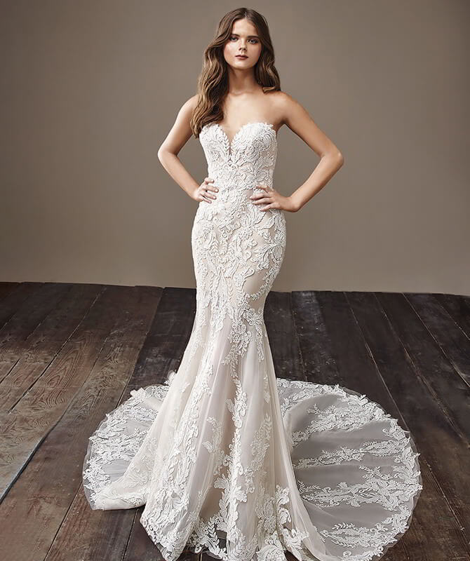 Badgley Mischka Wedding Gown: Badgley Mischka 2018 Wedding Dresses