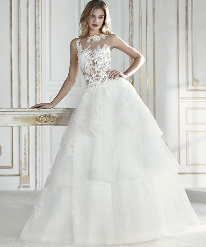 La Sposa 2018 wonderfully romantic wedding dress