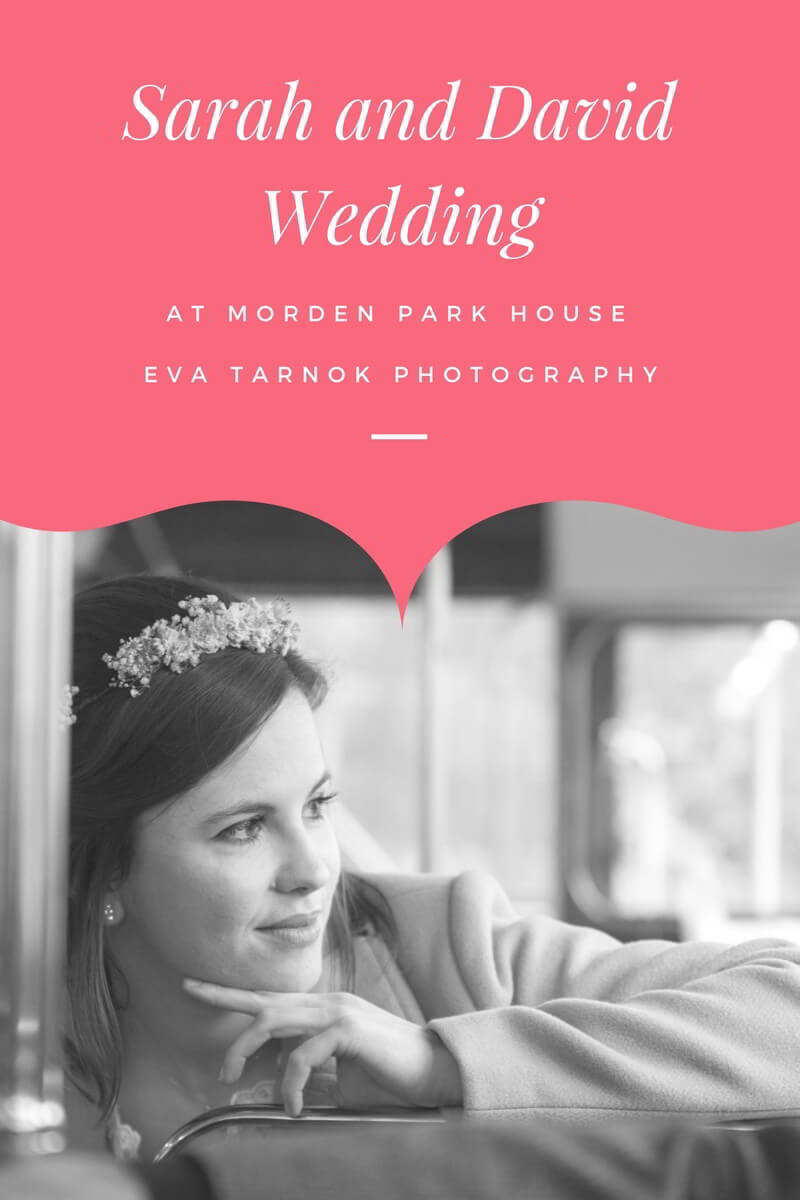 Sarah and David Wedding at Morden Park House - Eva Tarnok Photography